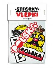 Naklejki Stforky Polska 4 szt. #5