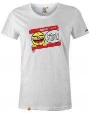 T-shirt damski My name is Stforky