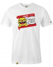 T-shirt męski My name is Stforky