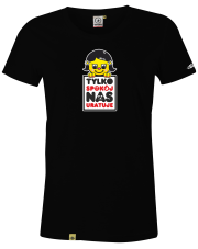 T-shirt damski Tylko spokój Nas uratuje /Girl