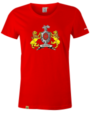 T-shirt damski Lwy zamojskie
