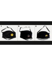 Stforkowa maska ochronna - czarna