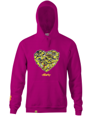 Bluza z kapturem Stforky Love Stickerbomb