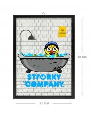 Stforky Company - Obrazek ramka A4