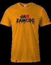 T-shirt męski Ja ❤️ Zamość Yellow
