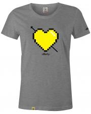 T-Shirt damski Stforky Serce # 1