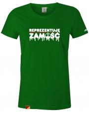 T-shirt damski Stforky Reprezentuję Zamość
