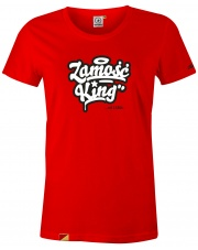 T-shirt damski Zamość King