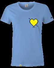 T-Shirt damski Stforky Serce # 2